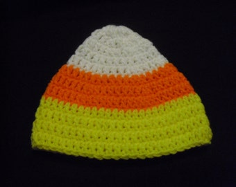 Candy Corn Baby Hat, Sweet & Bright Colors Ready for Halloween