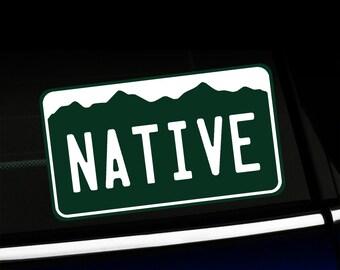 Small Colorado Native - Bumper Sticker