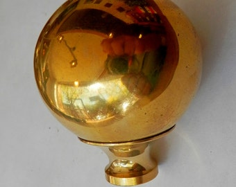brass 2 inch dia brass bed balls for wrought iron beds