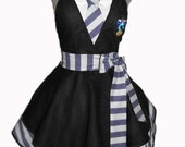 House Colors Retro Apron - Ravenclaw