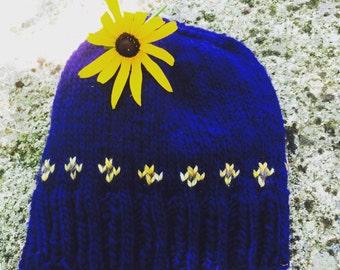 Black-Eyed Susan Hat by Cozy Noggin