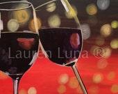 A Joyful Occassion Acrylic Painting