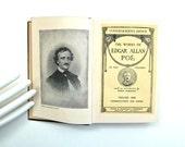 Antique Book Edgar Allan Poe 1904 Little Book Commemorative Edition Volume One