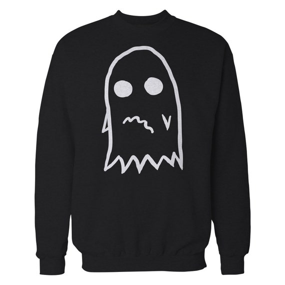 Anxious Ghost Sweater. Anxiety Ghost Crewneck.