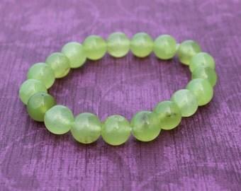Her Green Stretch Bracelet