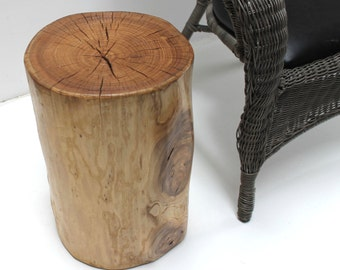 Stump Side Table Stool Seat