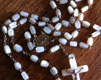 Vintage Antique Rosary . Rosary. With Cross. From BRUGES Europa.