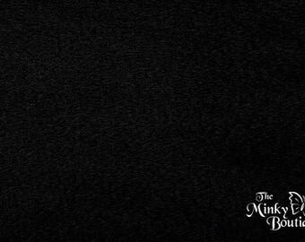 Minky Smooth Cuddle - Black