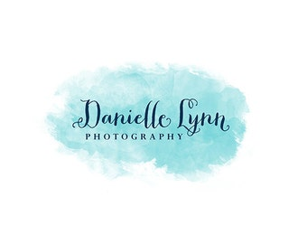 Watercolor Logo, logo design, logo, Premade Logo Design, Photography Logo, Calligraphy Logo, Boho Logo Design, Business Logo