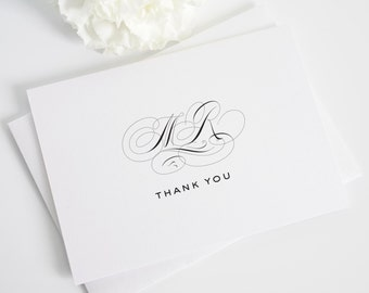 Thank You Cards - Classic Vintage Design
