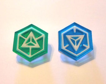 Ingress: Resistance or Enlightened Pins