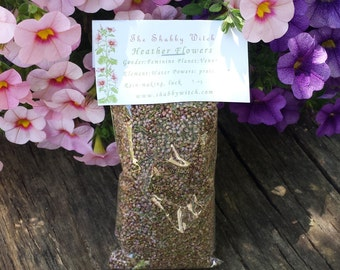 Heather Flowers Organic