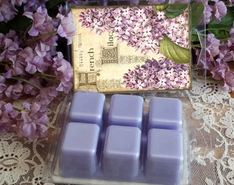 Lilac Soy Tarts, Spring Tarts, Spring Melts, Wax Melts,