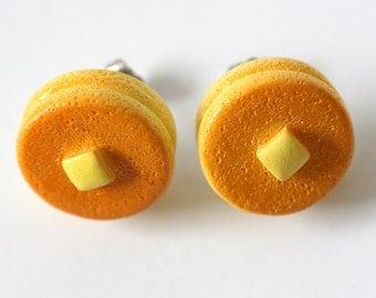 Pancakes & Butter Earrings