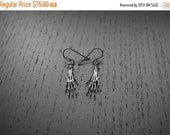 HALLOWEEN SALE Rat Paw Earrings - Sterling silver