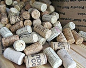 DESTASH - 50+ Used Natural Wine Corks - Short Corks - Red and White Wine - DIY Cork Boards, Coasters, Trivets, Wine Cork Art, Crafts,Decor