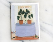 New Baby sprout card