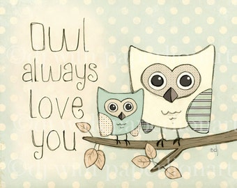 Owl Always Love You-Blue Print
