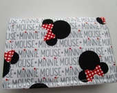 Disney Minnie Mouse, Minimalist Wallet, Business Card Holder, Travel Wallet, Small Wallet, Disney Cruise, Card Case, Credit Card Wallet