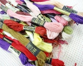 Estate Lot Variety Colors Vintage Embroidery Floss Thread Sewing Notions Skeins (50) Each