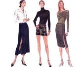 90s Split Skirt Pattern Vogue 9798 Size 6 8 10 12 UNCUT Factory Folded
