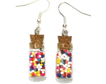 Sprinkle Jar Earrings