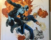 Quantum and Woody Must Die! paperback signed with a sketch by Steve Lieber