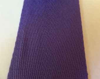 Webbing Cotton/Polyester 2 in x 1 yard Purple