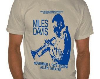 Miles Davis 1974 Cleveland T-Shirt