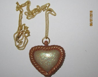 pendant handmade heart