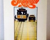 1976 San Francisco Book of Photographs and Text of the City, Bernard Hermann, Scott Blakey