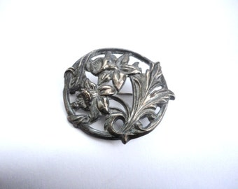 Vintage Sterling Brooch