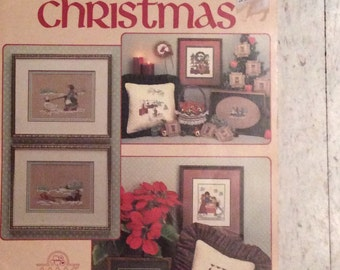 Leasure Arts Cross Stitch Pattern Books and Charles Craft Fabric