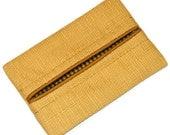 Wheat, Golden Linen, Fall Colors, Travel Tissue Holder, Kleenex Holder, Travel Tissue Cozy, Pocket Tissue Holder, Purse Tissue Pouch