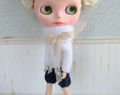 Antique White Butterfly Fairy Sweater