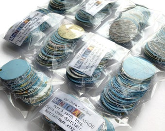 Wholesale - 10 National Geographic Atlas Round Garlands - Over 5 Yards Long Each - Great for Resale - Handmade Party Supplies