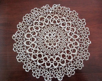 Learn tatting lace edging