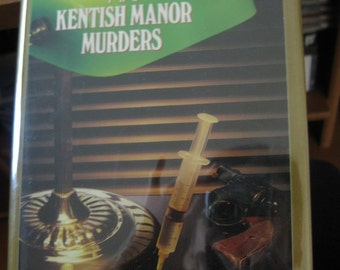Vintage Book, The Kentish Manor Murders by Julian Symons, Sherlock Holmes Pastiche