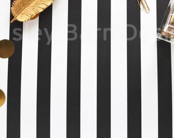 Styled Gold Desktop Stock Photography I I Hi-Res JPEG 300Dpi, INSTANT DOWNLOAD black and white stripe, blog, branding, logo