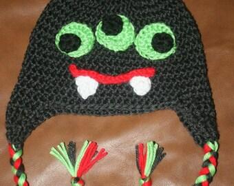 Made to order crochet monster hat