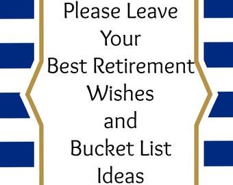 Retirement Party Printable, Set of 3 Digital Download