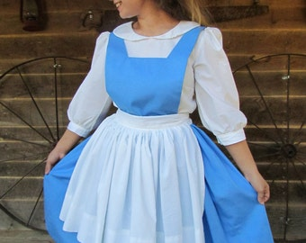 beauty and the beast halloween costume storytime character belle adult size