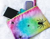 Rainbow Spider Cosmetic Bag