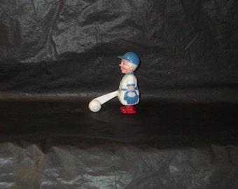 Vintage Japan Marx Like SLUGGER Baseball Player Ramp Walker Toy RARE find