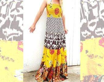 Boho Femme Maxi Dress.