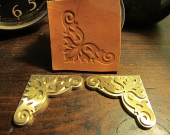 how to make leather embossing plates