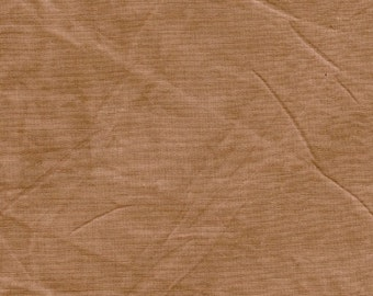 New Aged Muslin from Marcus - Full or Half Yard Milk Chocolate Distressed Parchment Look Blender - 7691-0113