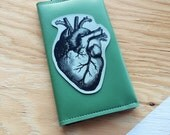 SALE Anatomical Heart on a Travel Wallet