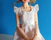 PDF PATTERN: Long Dress for MSD BJDs & Ellowyne Wilde
