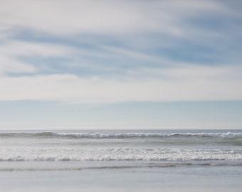 Oregon Coast ||| Muted Minimalist | Beach Art | Ocean Photography | Pacific Northwest Photography | Soothing Nursery Art